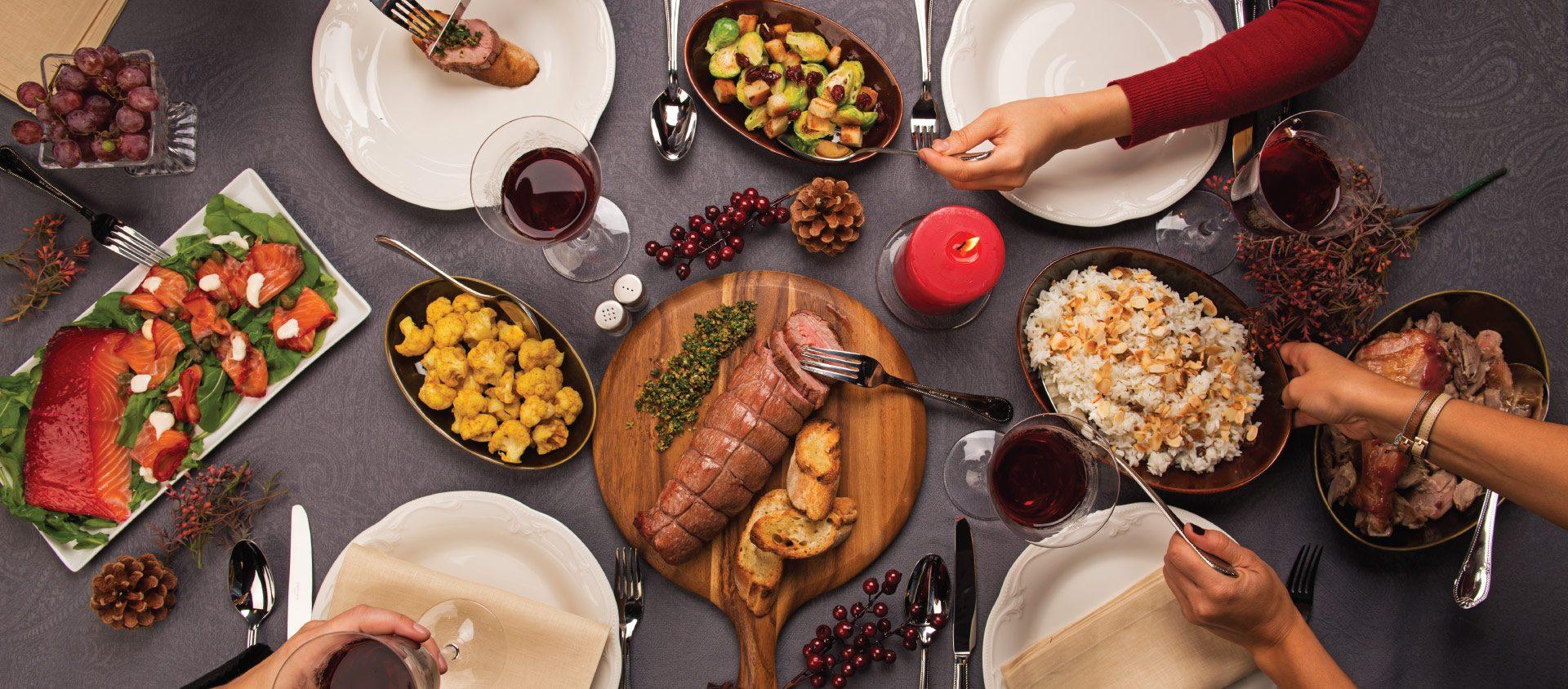 Alimentação nas festas de fim de ano